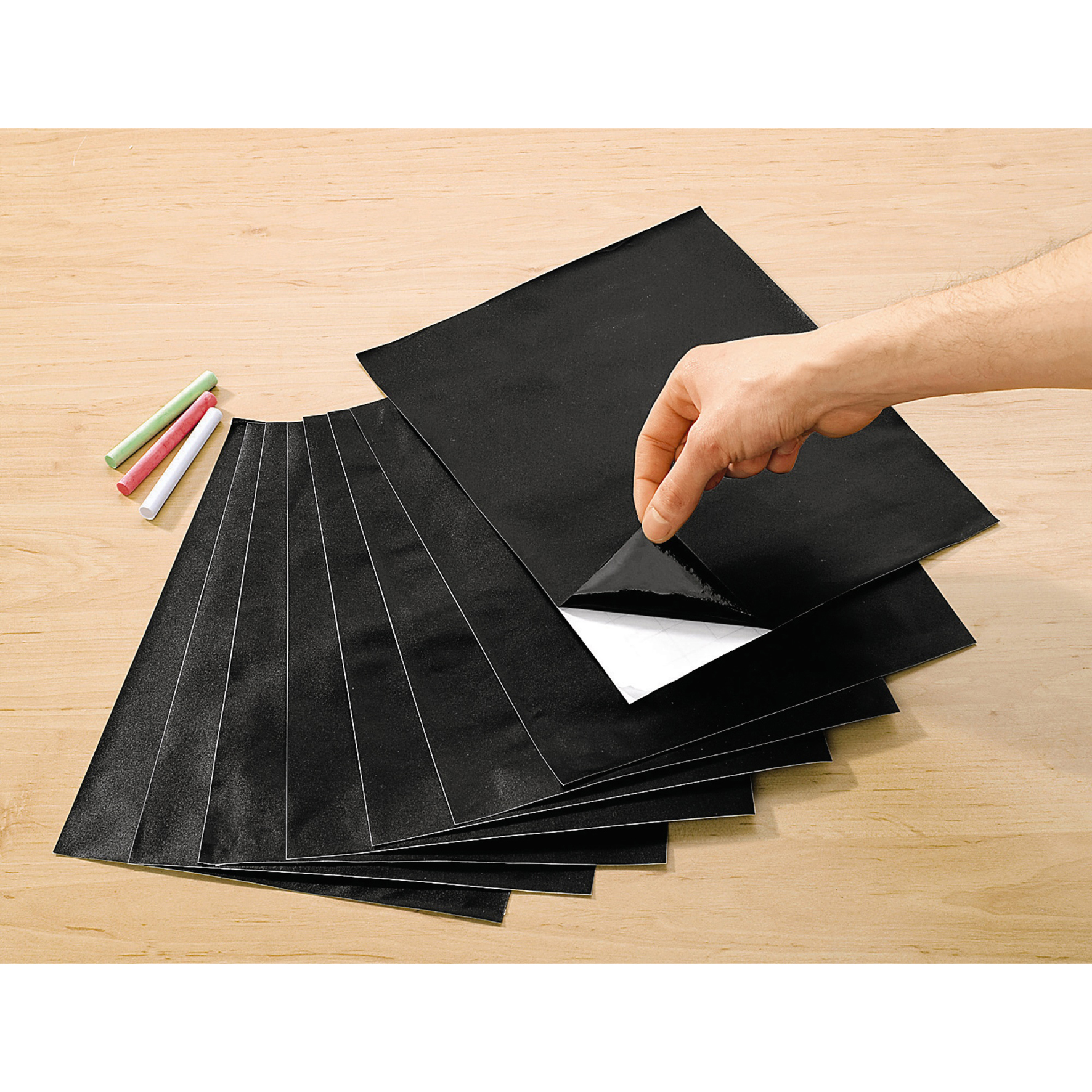 8x tafelfolie je 22x30 cm selbstklebend memoboard wochenplaner tafel maltafel ebay. Black Bedroom Furniture Sets. Home Design Ideas