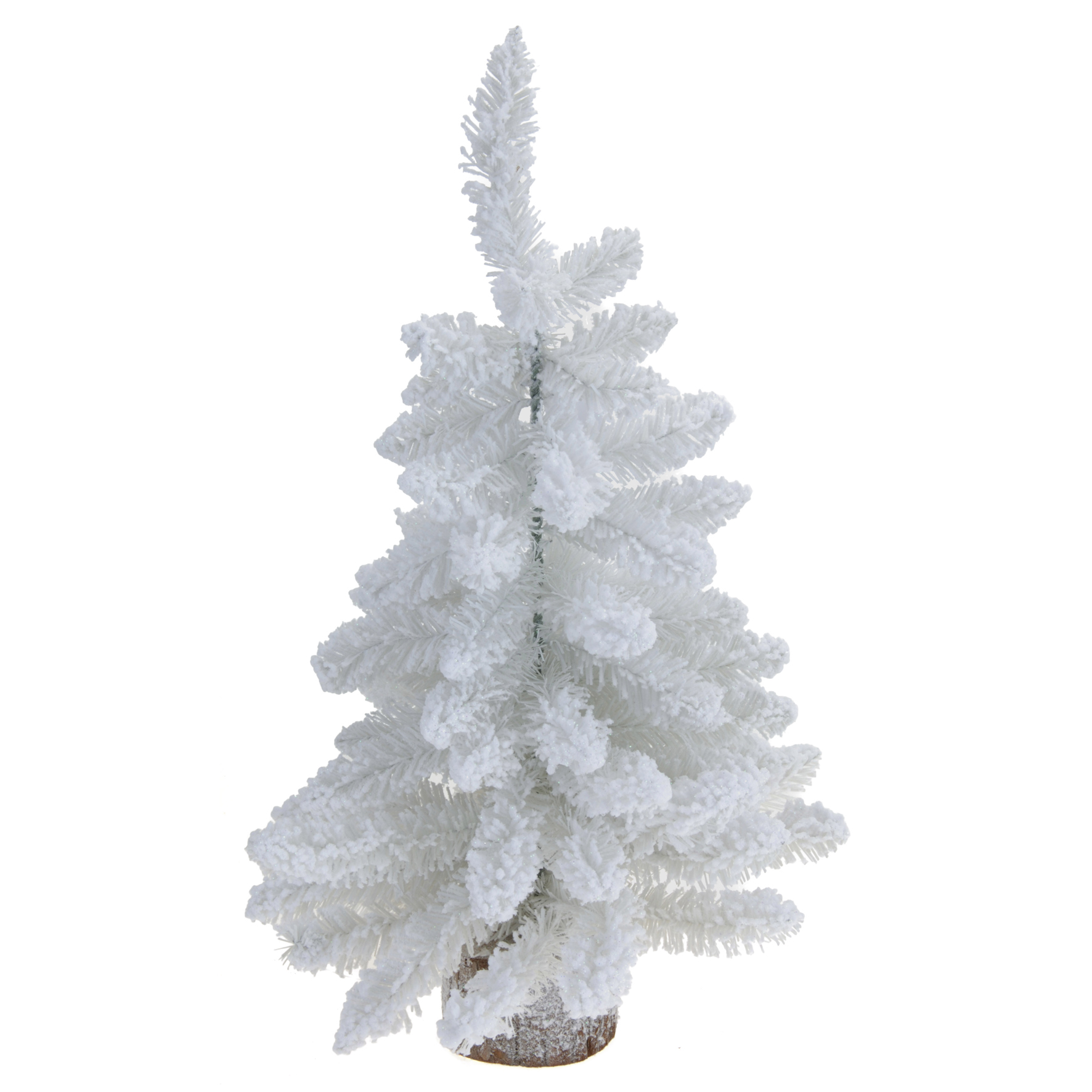 k nstlicher weihnachtsbaum mit schnee deko ca 60 cm christbaum wei ebay. Black Bedroom Furniture Sets. Home Design Ideas
