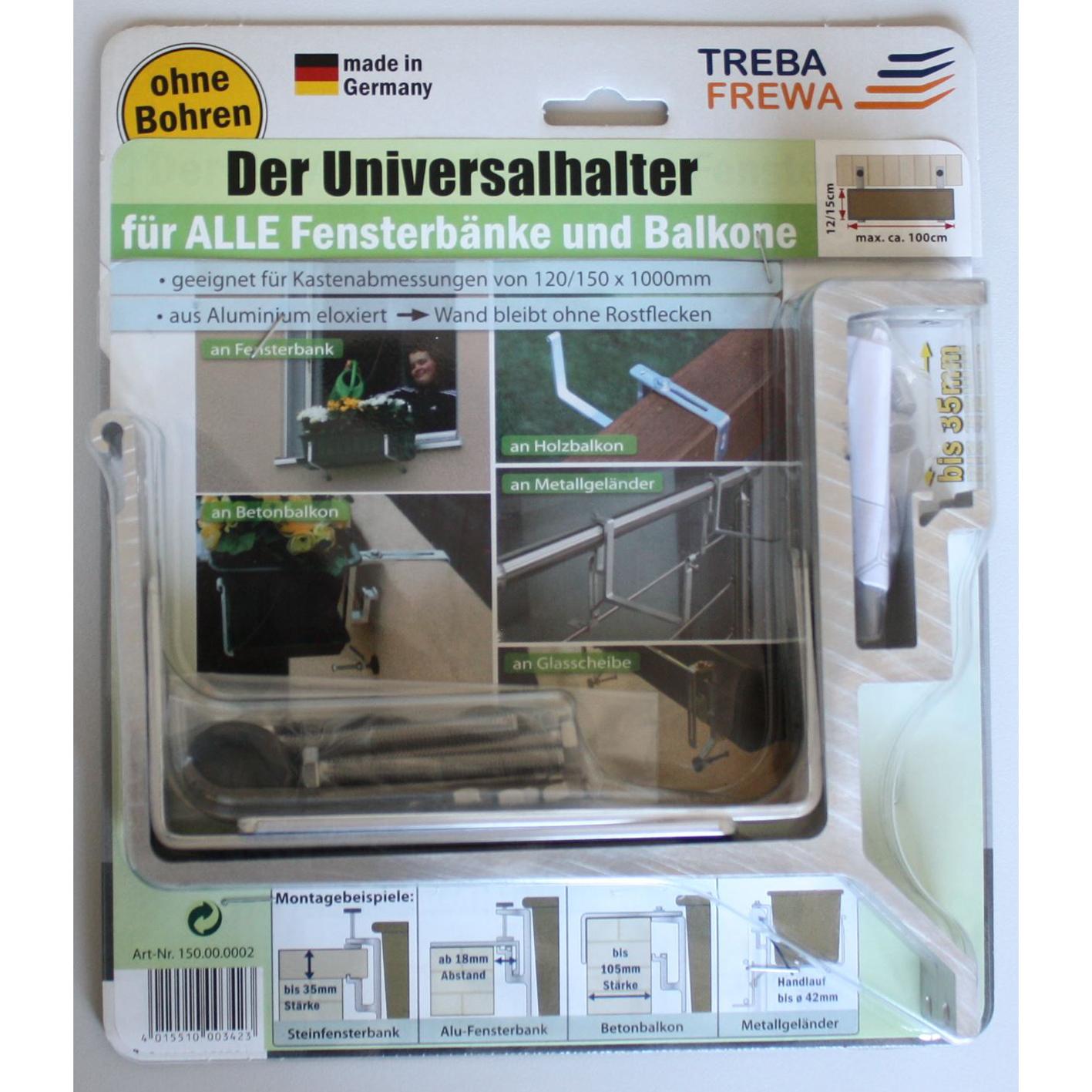 balkonkastenhalter ohne schrauben bohren balkon fensterbank blumenkastenhalter ebay. Black Bedroom Furniture Sets. Home Design Ideas