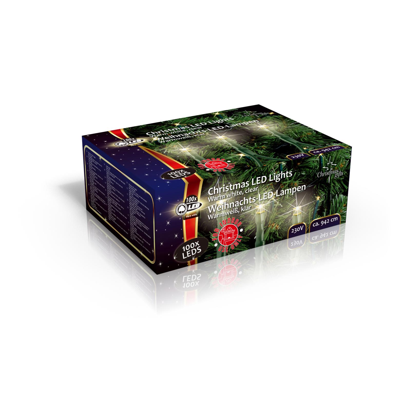 Lichterkette 100 led warm wei weihnachtsbaum weihnachtsbeleuchtung innen ebay - Weihnachtsbaum lichterkette ohne kabel ...