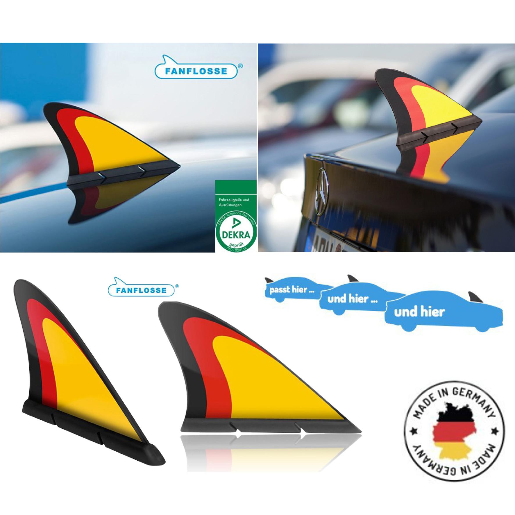 auto fanflosse deutschlandflagge deutschlandfahne haiflosse fahne deutschland ebay. Black Bedroom Furniture Sets. Home Design Ideas