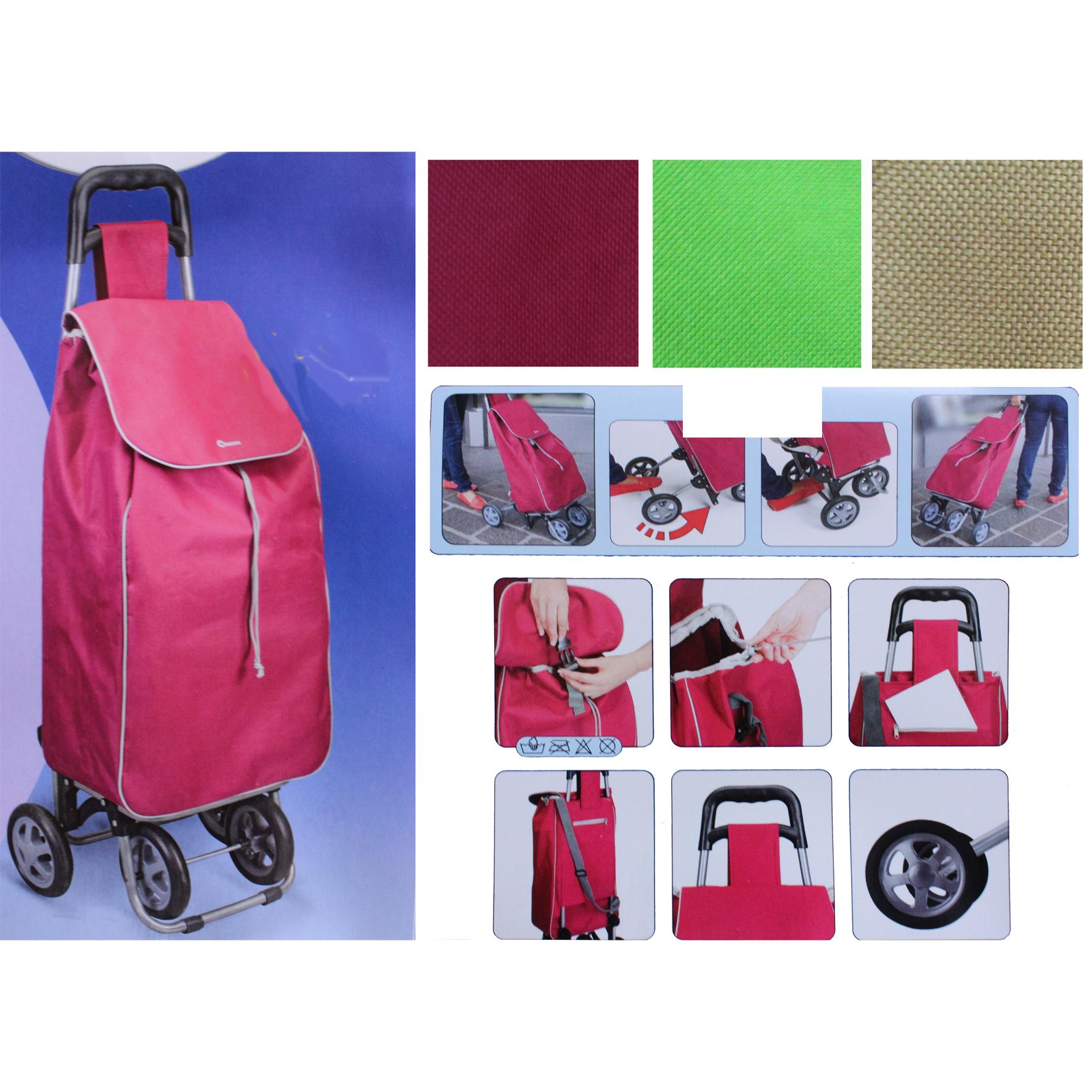Einkaufstrolley Mit 4 Rädern : einkaufswagen 4 r der zum schieben ziehen einkaufstrolley einkaufsroller ebay ~ Aude.kayakingforconservation.com Haus und Dekorationen