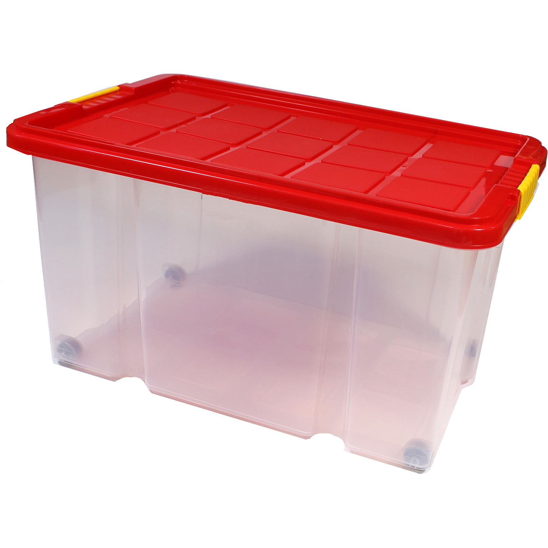 KLAR DURCHSICHTIG PLASTIK Stapel Ablagefach Lagerplätze Boxen 29 x 20 x 15cm