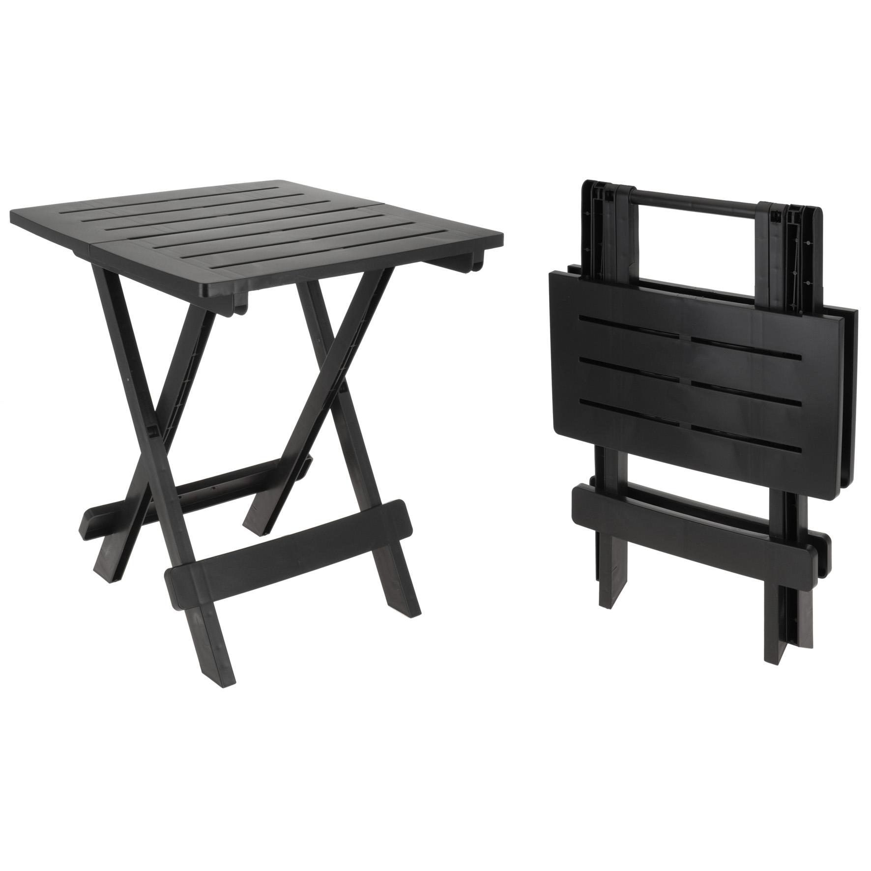 kunststoff beistelltisch kleiner klapptisch gartentisch tisch camping ebay. Black Bedroom Furniture Sets. Home Design Ideas