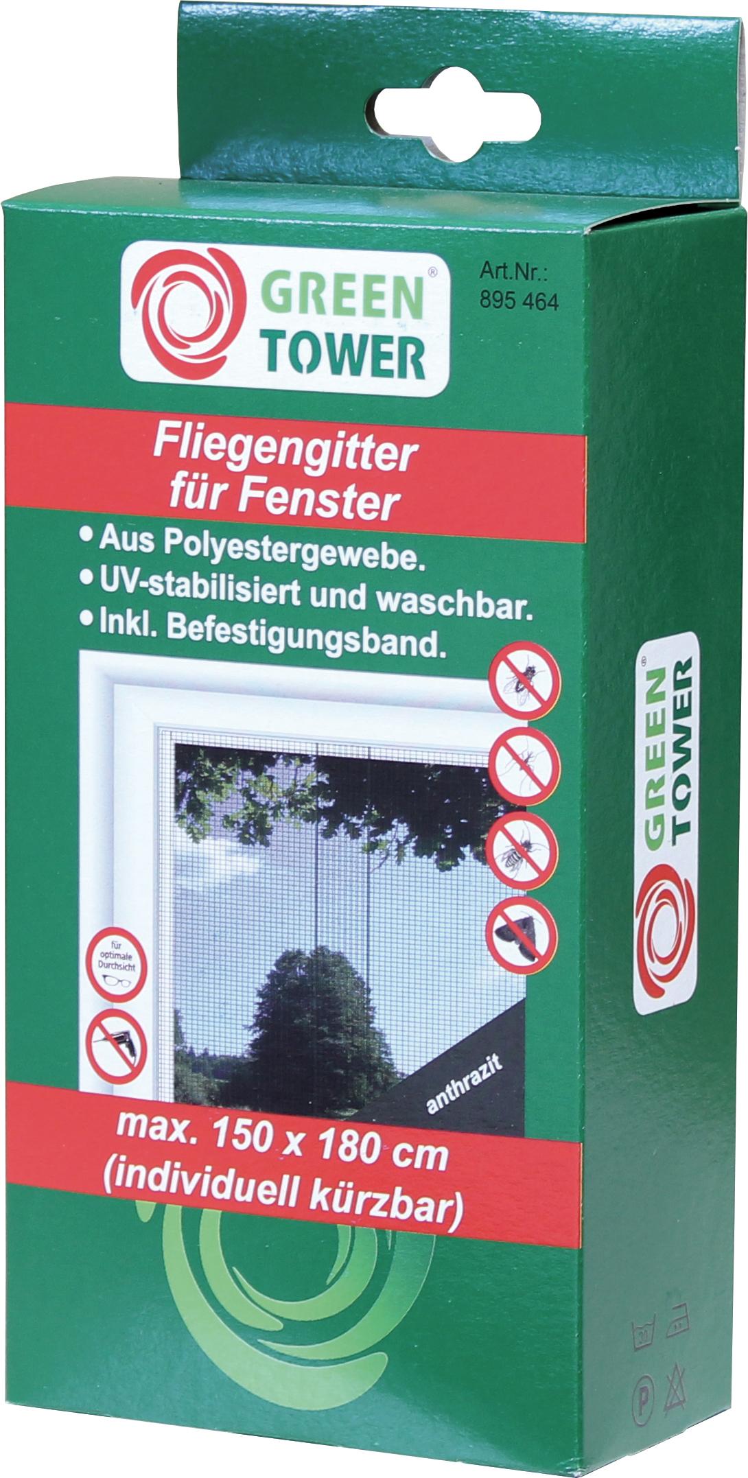 Fenster Fliegengitter Insektenschutz Mückenschutz anthrazit ...