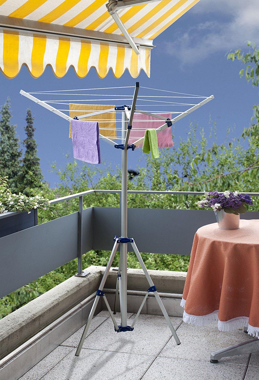 w schespinne w schest nder mobil aluminium w scheleine st nder spinne camping ebay. Black Bedroom Furniture Sets. Home Design Ideas