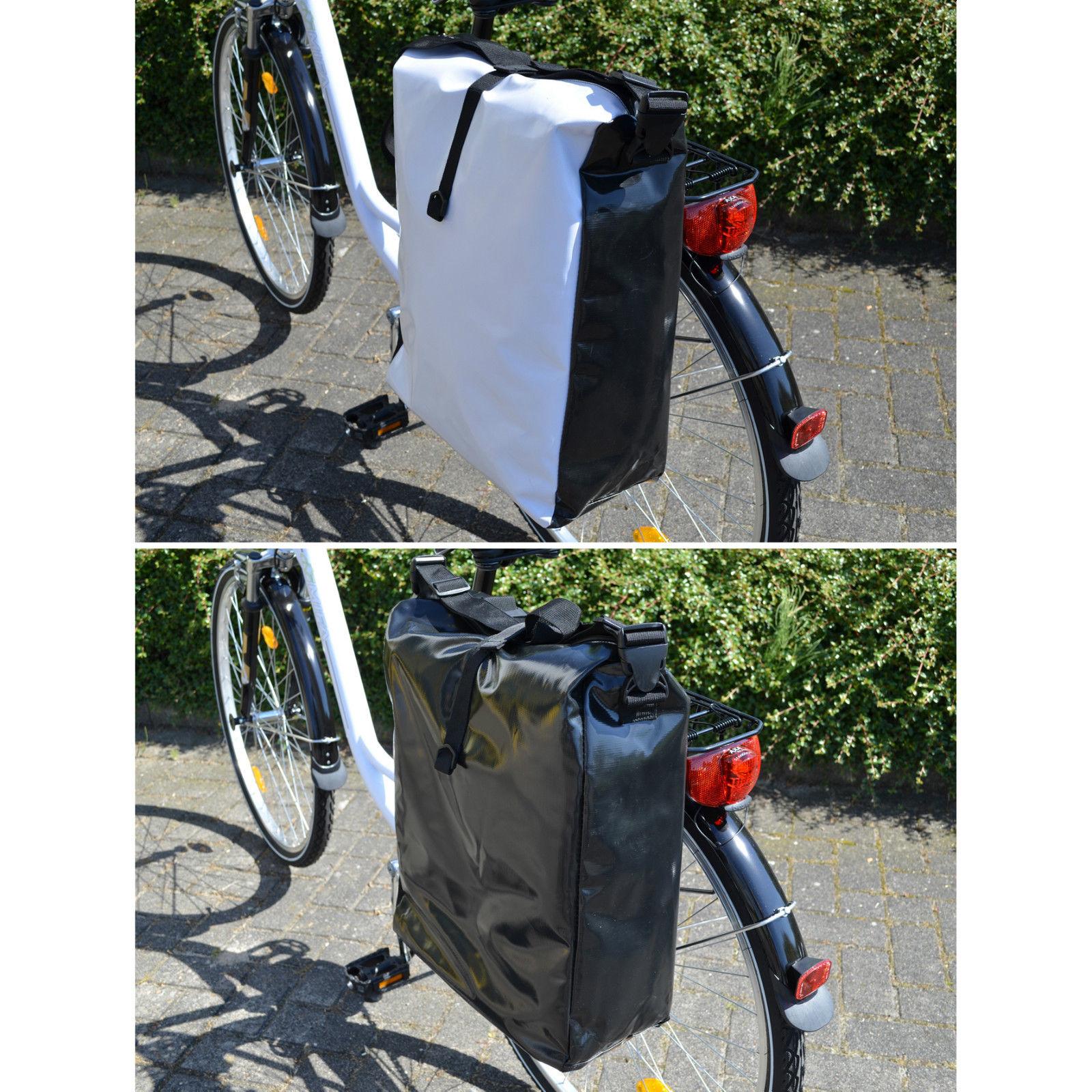 fahrradtasche wasserdicht lkw plane gep cktasche. Black Bedroom Furniture Sets. Home Design Ideas