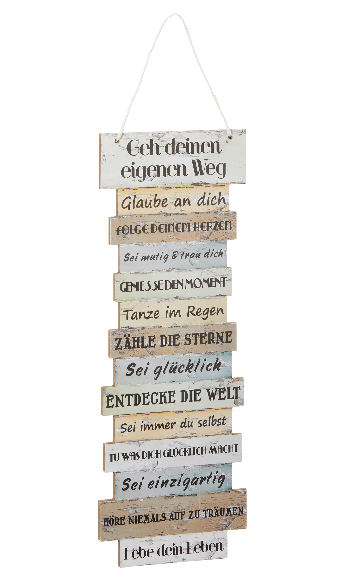 Details Zu Plankenschild Schild Lebenseinstellung 41x 15 Cm Weisheiten Sprüche Shabby Chic