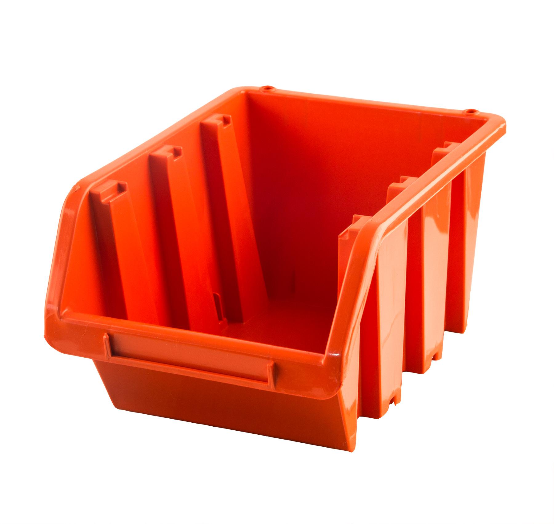 20 Stapelboxen In-Box Sichtlagerk/ästen Sichtlagerbox Lager orange Gr 5